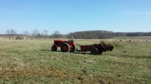 Grant Fertilizing the Old School Way
